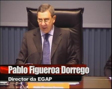 Inauguración III Foro - Foros sobre a directiva servizos e o incremento da competitividade: Unha oportunidade para Portugal, España é  Galicia